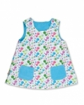 Bird Pinafore fully reversible