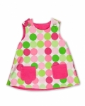 Disco Dot Fully Reversible Pinafore