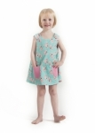 Pink Poodles Fully Reversible Pinafore