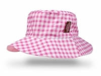 Pink Gigham Hat