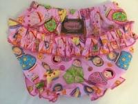 Babushka Doll Ruffle Pants