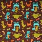 Dino Dudes Fabric
