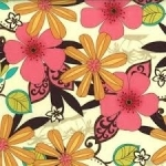 Floral Charm Fabric