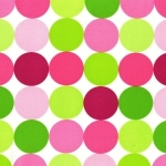 Disco Dot Pink Fabric