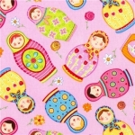 Babushka Dolls Fabric