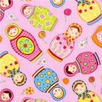 Babushka Dolls Fabric