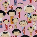 Yui Kosheshi Doll Fabric