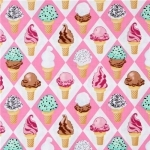 What's the Scoop Cotton Flannel Fabric